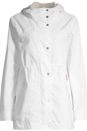 Hunter Women's Original Smock Cotton Jacket - - Size Medium