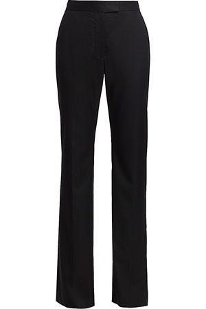 Stella McCartney Women's Wool Bootcut Trousers - - Size 46 (12)