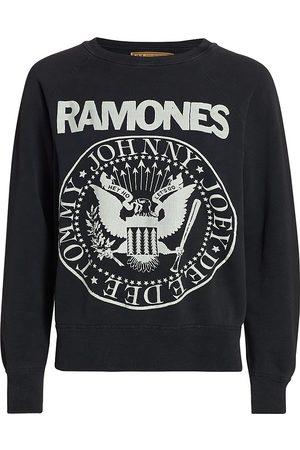 Madeworn Women's The Ramones Graphic Sweatshirt - - Size XS