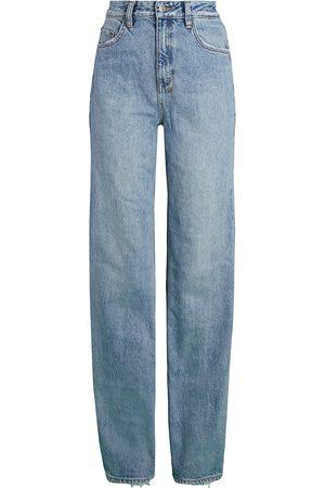 KSUBI Women High Waisted - Women's Playback Karma High-Rise Straight Jeans - Karma - Size Denim: 31