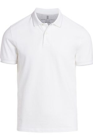 Brunello Cucinelli Men's Piquet Polo - - Size 56 (46)
