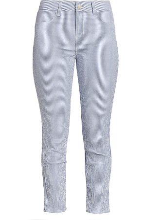 L'Agence Women's Mandy High-Rise Gingham Skinny Jeans - - Size 29 (6-8)
