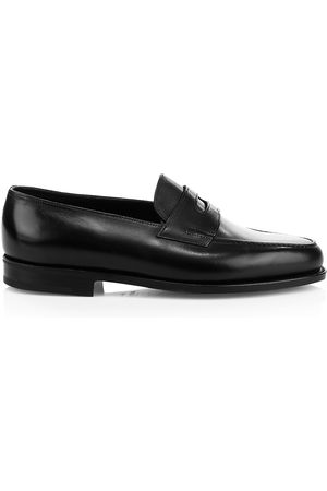 JOHN LOBB Men's Lopez Leather Loafers - - Size 10 UK (11 US)