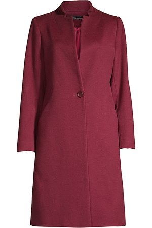 Sofia Cashmere Women's Turned Up Notch Collar Jacket - - Size 8