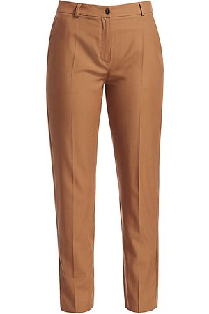 Agnona Women's Wool Tailored Trousers - - Size 38 (2)