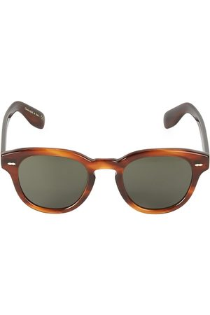Oliver Peoples Men's 50MM Cary Grant Polarized Round Sunglasses