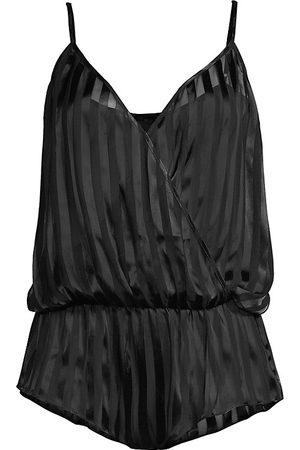 Kiki de Montparnasse Women's Peek-A-Boo Romper - - Size XS