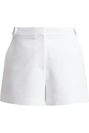 Milly Women's Cady Aria Button Shorts - - Size 12