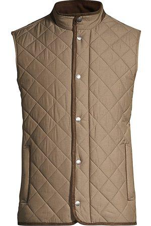 Peter Millar Men's Essex Quilted Vest - - Size XL