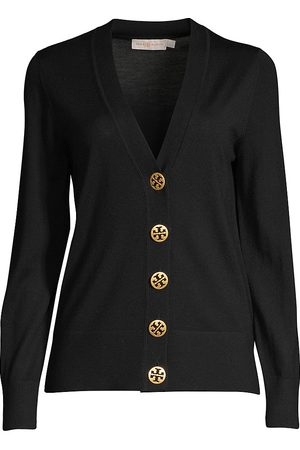 Tory Burch Women's Merino Wool Button-Up Cardigan - - Size XS