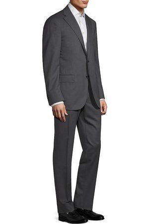 corneliani Men's Regular-Fit Solid Woven Wool Suit - - Size 60 (50) L