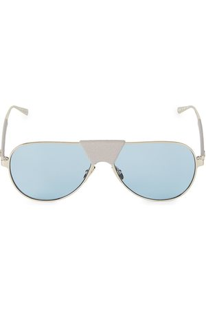 Salvatore Ferragamo Men's 59MM Aviator Sunglasses