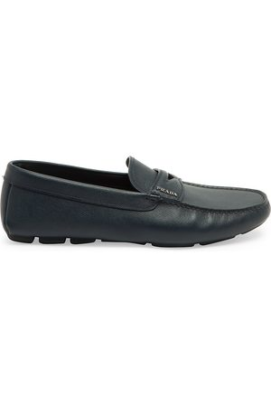 Prada Men's Leather Penny Driving Loafers - - Size 9.5 UK (10.5 US)