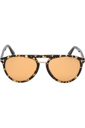 Tom Ford Men's Burton 57MM Rounded Sunglasses