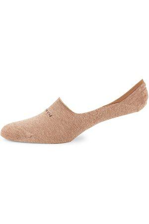 Marcoliani Men's Pima Cotton Liner Socks - Chino
