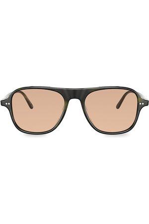 Oliver Peoples Men's Nilos 53MM Square Sunglasses