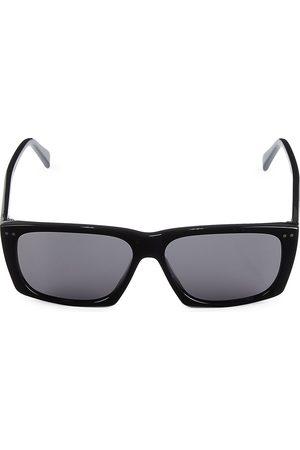 Céline Men's 59MM Rectangular Plastic Sunglasses