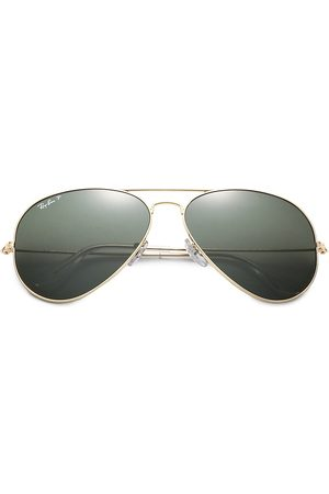 Ray-Ban Men's RB3025 62MM Original Polarized Aviator Sunglasses
