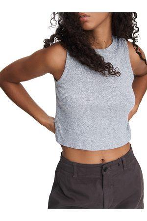 RAG&BONE Women's The Knit Cropped Tank - - Size Large