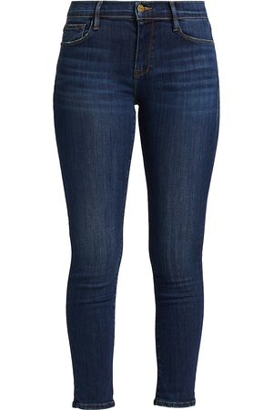 Frame Women's Le Garcon Mid-Rise Straight Jeans - - Size 34 (16)