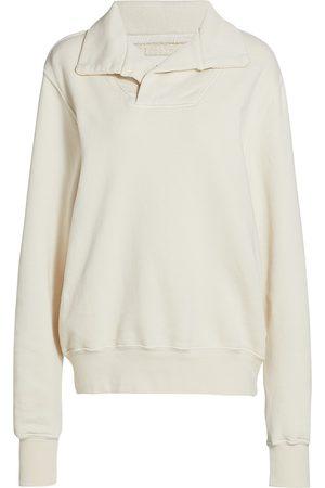 Les Tien Women's Yacht Fleece Pullover Sweatshirt - - Size XL