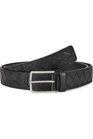 Bottega Veneta Men's Intrecciato Leather Belt - - Size 100 (40)