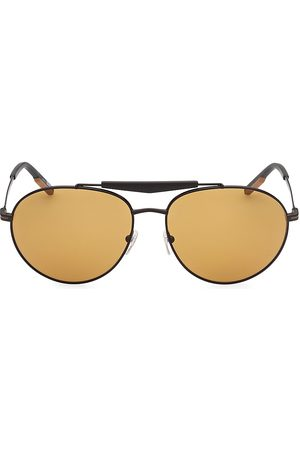 Z Zegna Men's 61MM Metal Round Sunglasses