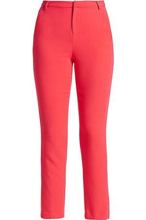 L'Agence Women's Eleanor Full-Length Straight Pants - - Size 6