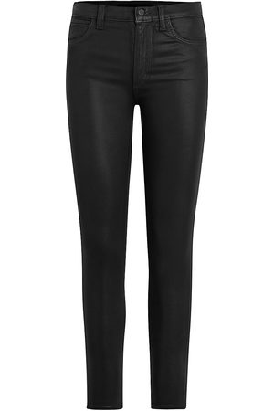Joes Jeans Women's The Charlie High-Rise Coated Ankle Skinny Jeans - - Size 32 (12)