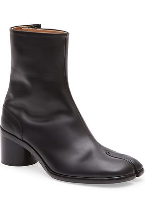 Maison Margiela Men's Tabi Leather Ankle Boots - - Size 45 (12)