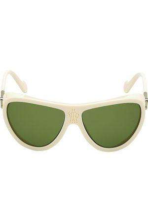 Moncler Men's 50MM Cat Eye Shield Sunglasses