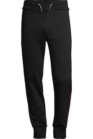 Paul Smith Men Sweatpants - Jersey Side Stripe Joggers