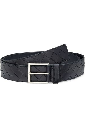 Bottega Veneta Men's Intrecciato Leather Belt - - Size 80 (32)