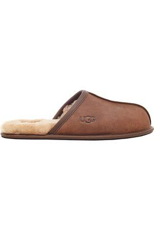 UGG Men's Men's Scuff Fur-Lined Mule Slippers - Tan - Size 13