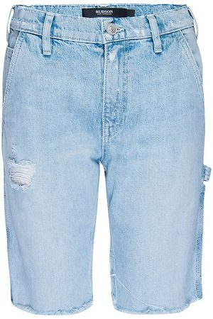 Hudson Women's Carpenter Denim Bermuda Shorts - - Size 34 (16)