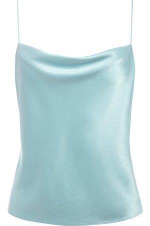 ALICE+OLIVIA Women's Harmony Draped Camisole - - Size Large
