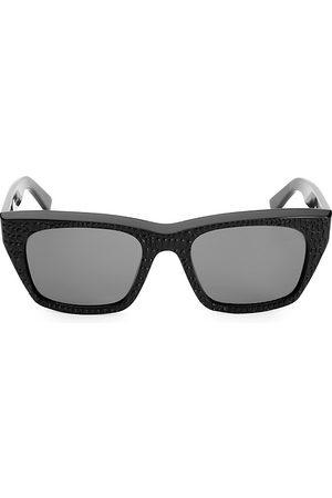 Céline Men's 53MM Textured Square Sunglasses