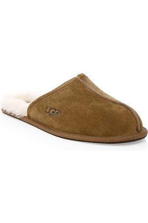 UGG Men's Men's Scuff Fur-Lined Mule Slippers - - Size 11