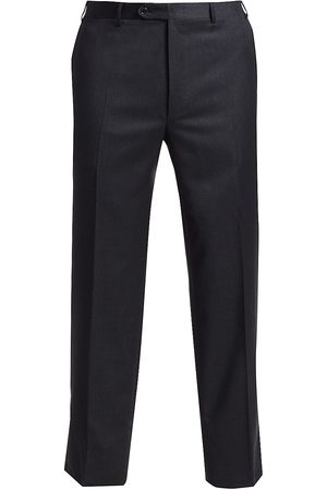 CANALI Men's Regular-Fit Wool Pants - - Size 56 (38)