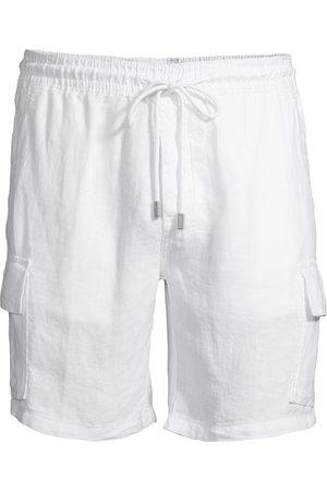 Vilebrequin Men's Linen Cargo Shorts - - Size XXL