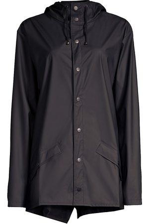 Rains Women's Hooded Mackintosh - - Size XXS-XS