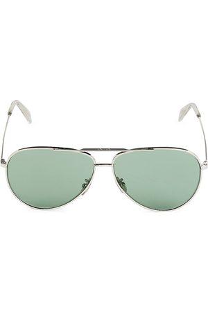 Céline Men's 61MM Metal Pilot Sunglasses
