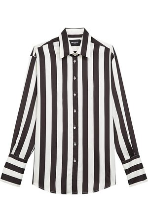 The Kooples Women's Chemise Stripe Blouse - - Size 4 (XL)