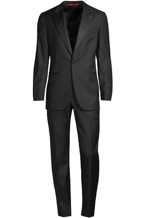 ISAIA Men's Sanita Peak Lapel Wool Tuxedo - - Size 50 (40) R