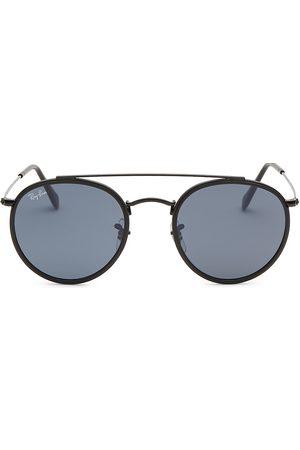Ray-Ban Men's RB3647 51MM Round Aviator Sunglasses