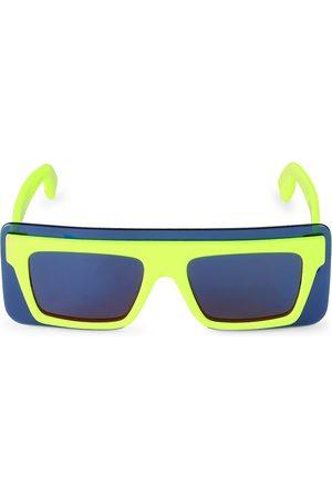 Kenzo Men's 53MM Plastic Sheild Sunglasses