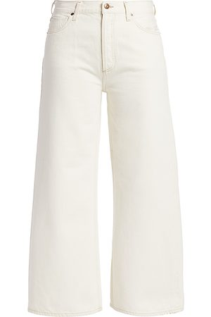 Citizens of Humanity Women's Serena High-Rise A-Line Crop Wide-Leg Jeans - - Size 26 (2-4)