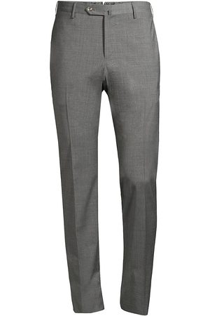 PT01 Men's Traveller Slim-Fit Performance Wool Trousers - - Size 54 (44)