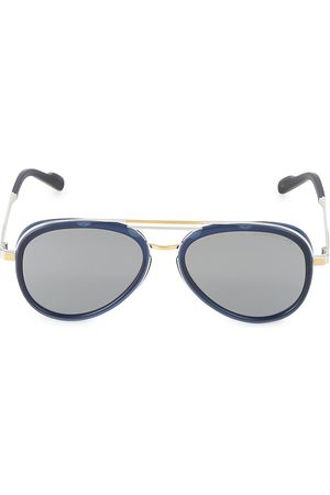 Cutler and Gross Men's 58MM Two-Tone Aviator Sunglasses