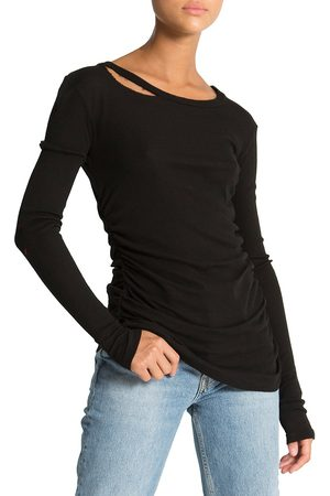 N:philanthropy Women's Gavin Cutout Long-Sleeve T-Shirt - - Size XL